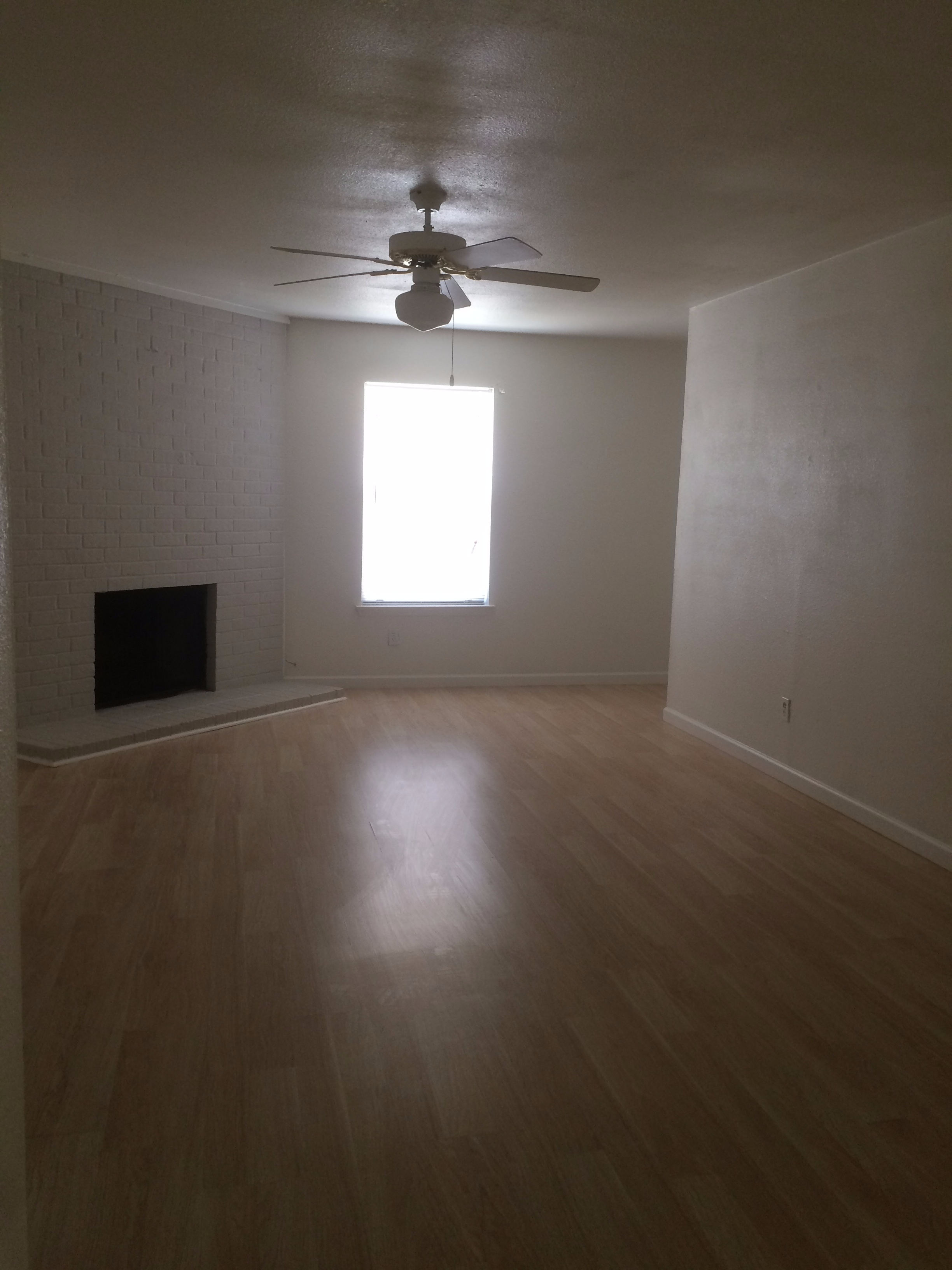 Duplex three bed room 1 1/2 bath one car garage
