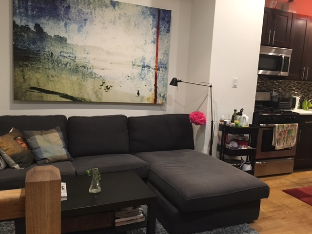 Kent ave living room