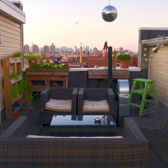 Kent ave rooftop