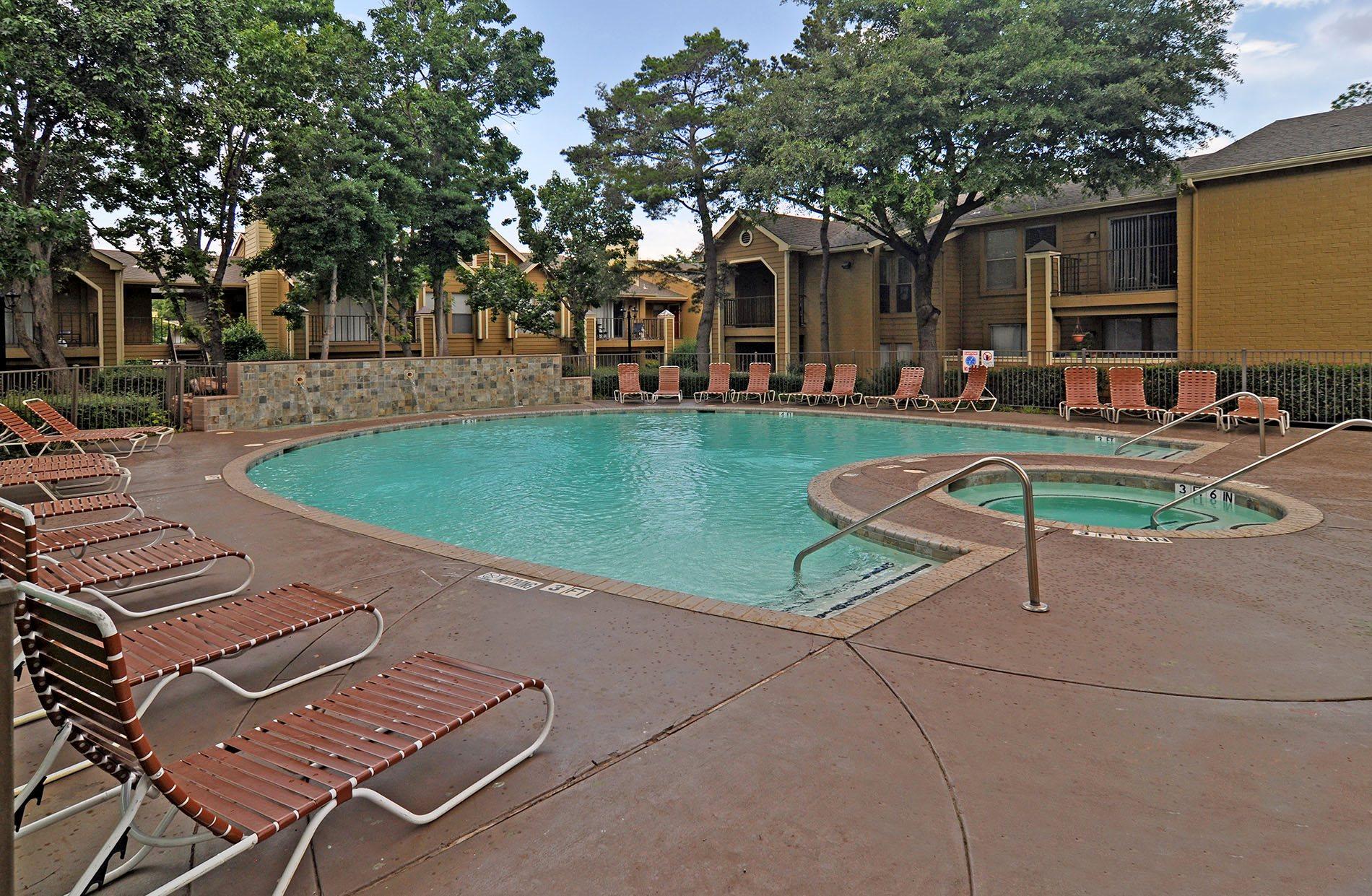 Pool 4 pavilion