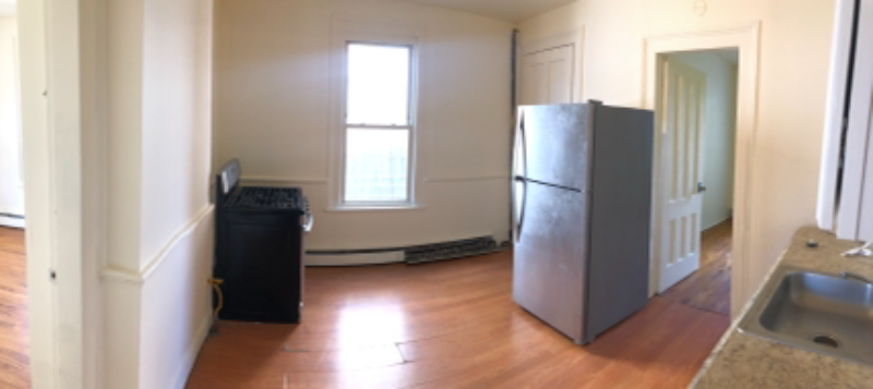 First Floor - One Bedroom with extra storage space