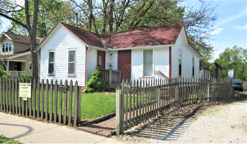 two-bedroom home near downtown